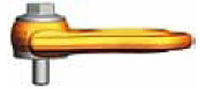 Šroubovací otočný a sklopný bod PLBW M12x18,2, nosnost 1 t, max.délka - 2/5