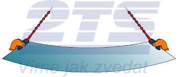 Horizontání svěrka CHTV 3 t, 0-60 mm, pár - 2