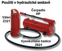 Hydraulický válec Brano Z321 25t - 2/3
