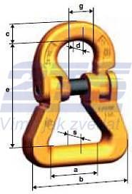 Spojovací člen textilní CARW průměr 10 mm, třída 10 - 2