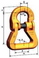 Spojovací člen textilní CARW průměr 10 mm, třída 10 - 2/2