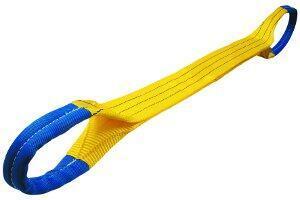 Plochý pás s oky čtyřvrstvý HB4 6t,1,5m, šíře 90mm - 2
