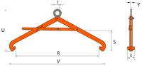 Nosič sudů VSHW 0,6 t, 500-900 mm - 2/4