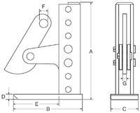Horizontální svěrka CHVX 6 t, 3-420 mm - 2/2