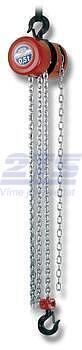Řetězový kladkostroj Z100, nosnost 1,6 t, délka zdvihu 3 m - 2