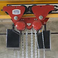Řetězový kladkostroj pojízdný Z220-B, nosnost 1 t, délka zdvihu 3 m - 2/2