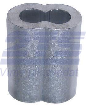 Objímka lisovací UM, EN 13411-3, Al, průměr 16 mm - 2