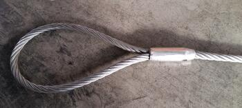 Objímka lisovací kónická TK, EN 13411-3, Al, průměr 24 mm - 2