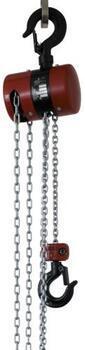 Řetězový kladkostroj Z100 nosnost 0,25 t, délka zdvihu 3,5 m - 2