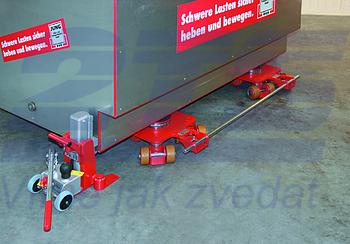 Hydraulický zvedák s přestavitelnou patkou JH-G plus 10t - 2
