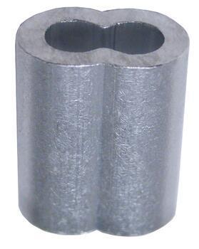 Objímka lisovací UM, EN 13411-3, Al, průměr 36 mm - 2