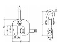 Šroubovací svěrka CSH 3t, 0-50 mm - 2/2