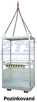 Závěsná revizní klec MB-K-IV 470kg - 2