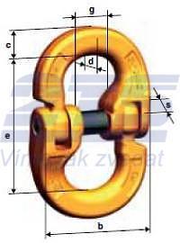 Spojovací člen CW průměr 19/20 mm, třída 10 - 2