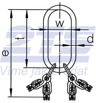 Montovaný závěsný systém LXKW 4-8, třída 10 - 2