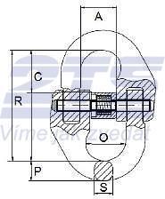 Spojovací člen VGE průměr 18/20 mm GAPA001, třída 10 - 2