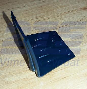 Ochranný roh plastový k upínacímu pásu šíře 20 mm, černý 30x30x30 (vázací pásky) - 2
