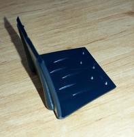 Ochranný roh plastový k upínacímu pásu šíře 20 mm, černý 30x30x30 (vázací pásky) - 2/2