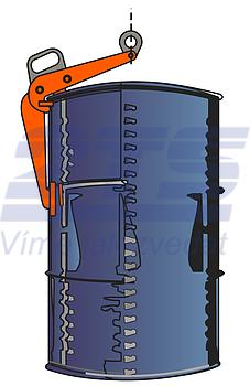 Nosič sudů VKHW 0,6 t - 3