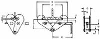 Šroubovací svěrka CTK 1 t, 75-230 mm - 3/3