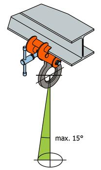Šroubovací svěrka SVSW 5 t, 150-560 mm - 3
