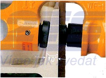 Šroubovací svěrka WF 2 t, 3-45 mm - 3