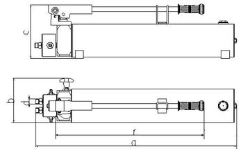 Hydraulické čerpadlo Brano HP 7l - 3