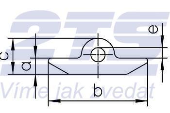 Kolík na vytahování kanálových skruží průměr 8 mm, třída 10 - 3