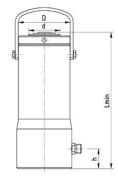 Hydraulický válec Brano Z321 25t - 3
