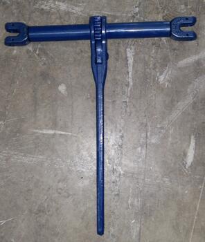 Řetězový napínák s vidlicí ŘNV průměr 8 mm, třída 10 - 3