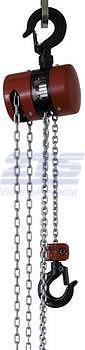 Řetězový kladkostroj Z100, nosnost 1,6 t, délka zdvihu 3 m - 3