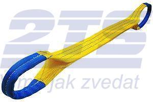 Plochý pás s oky dvouvrstvý HB2 3t,8m - 3