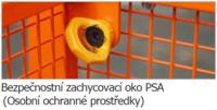Závěsná revizní klec MB-K-IV 470kg - 3/3