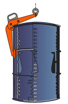 Nosič sudů VKHW 0,6 t - 4