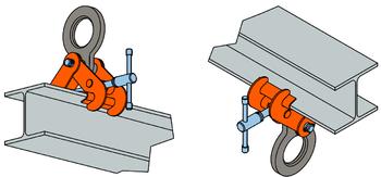 Šroubovací svěrka SVSW 5 t, 150-560 mm - 4