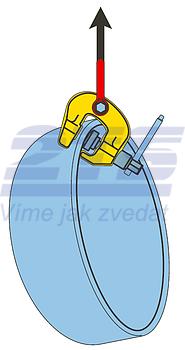 Šroubovací svěrka SCCW 3 t, 0-60 mm - 4