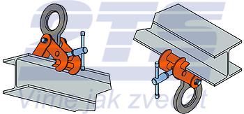 Šroubovací svěrka SVW 5 t, 150-300 mm - 4