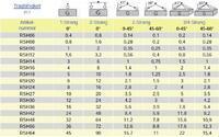 Šroubovací bod RSH M12x21, nosnost 1600 kg, tř.8 - 4/4
