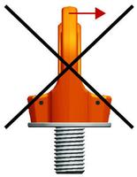 Šroubovací otočný  bod PLGW M30x45, nosnost 4,9 t, basic bez čipu- pro montážní klíč - 4/6
