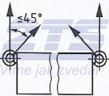 Šroub s okem DIN 580 M30-pozinkovaný-C15E,nosnost 3600kg - 4