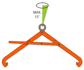 Nosič sudů VSHW 0,6 t, 500-900 mm - 4