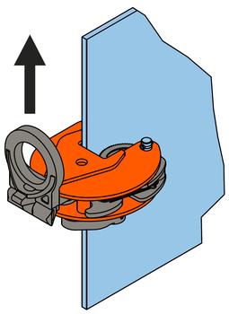Vertikální svěrka VHPUW 3 t, 0-35 mm - 4