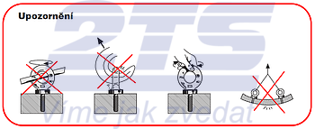 Šroubovací bod RGS M20x18, nosnost 2,5 t - 4