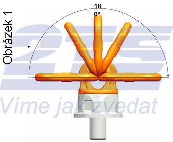 Šroubovací otočný a sklopný bod PLDW M48x68, nosnost 12,5 t,s čipem NFC - 5