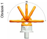 Šroubovací otočný a sklopný bod PLDW M48x68, nosnost 12,5 t,s čipem NFC - 5/7