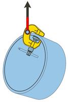 Šroubovací svěrka SCCW 3 t, 0-60 mm - 5/7
