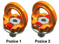 Šroubovací otočný  bod PLGW M30x45, nosnost 4,9t, s čipem NFC - 5/6