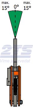 Vertikální svěrka VCEW 6 t, 0-50 mm - 5