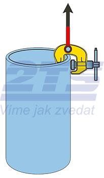 Šroubovací svěrka SCCW 3 t, 0-60 mm - 6