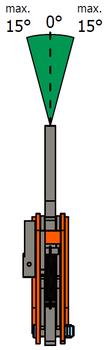 Vertikální svěrka VCEW-H 4,5t, Extra-Hart, 0-45 mm - 6